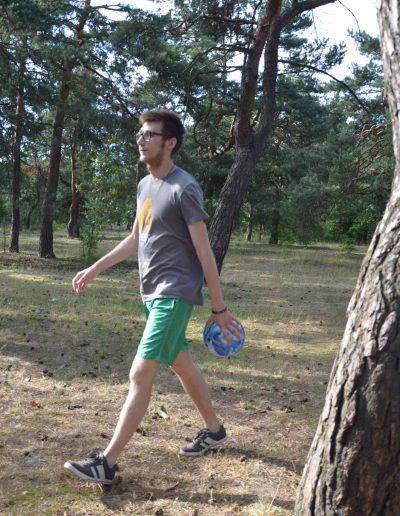 Michał i piłka
